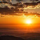 Sunrise Over The Lockyer by Tim Swinson