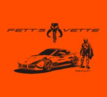 Fett's Vette Light by [original geek*] clothing