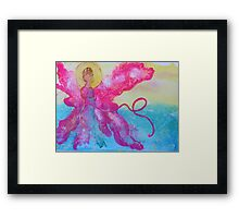 Breast Cancer Angel Framed Print