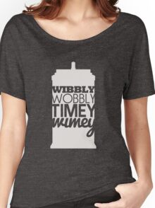 Wibbly Wobbly Timey Wimey...Stuff Women's Relaxed Fit T-Shirt