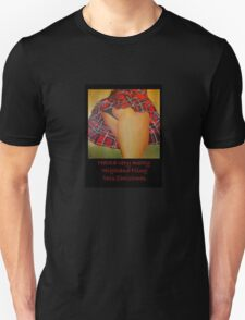 A Scottish Highland Fling Christmas Greeting Card T-Shirt