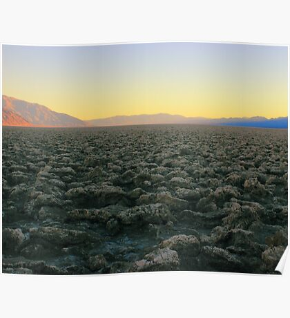 Starkness of Death Valley Poster