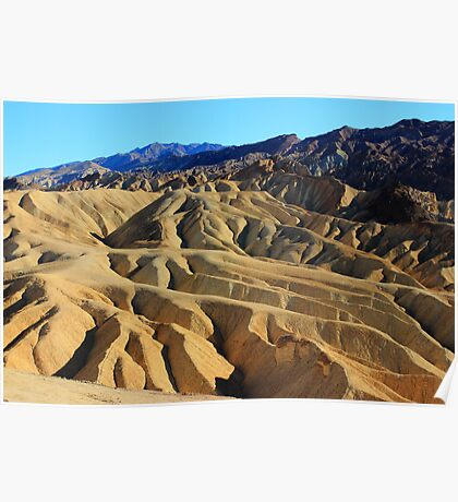 The Beauty of Death Valley Poster