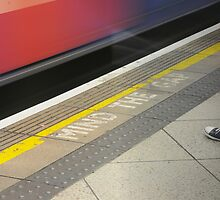 Mind the Gap London Underground by brodien
