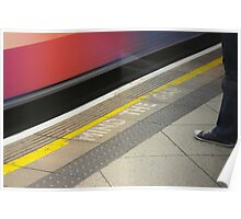 Mind the Gap London Underground Poster