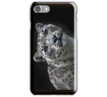 """ Watchful Eyes "" Snow Leopard iPhone Case  iPhone Case/Skin"