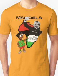 Bootleg Bart Simpson - Nelson Mandela T-Shirt