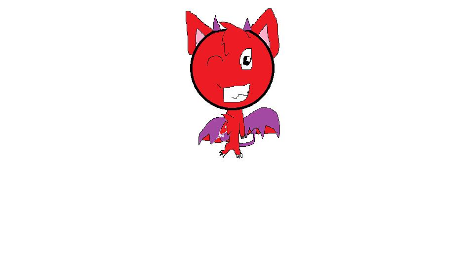 Kinda-Chibi Devil by mewlover