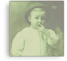 Young Bowler Canvas Print