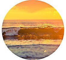 sun waves Photographic Print