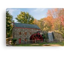 Longfellow's Wayside Inn Grist Mill Metal Print