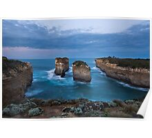 Island Arch, Port Campbell National Park Poster
