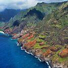 Na Pali Coast in Kauai, Hawaii by kcy011