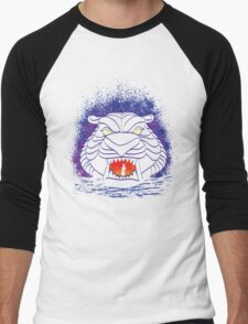 Tiger Cave Men's Baseball ¾ T-Shirt