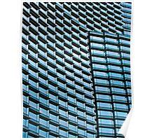 Blue Ledges Poster