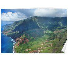 Rainbow over Kauai Poster
