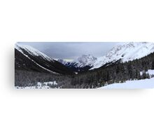Panoramic ranges Canvas Print