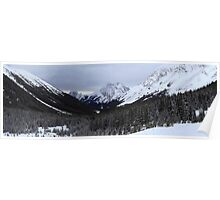 Panoramic ranges Poster