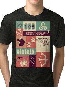 Teen Wolf Poster Tri-blend T-Shirt