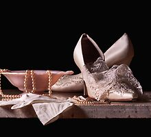 Bridal Shoes & Lace by Rachel Slepekis