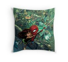 Lil' Spidey Throw Pillow
