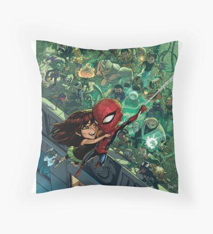 Lil' Spidey Throw Pillow