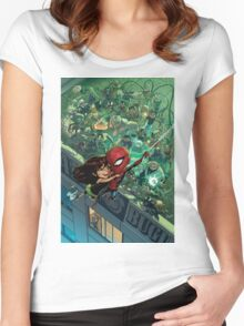Lil' Spidey Women's Fitted Scoop T-Shirt