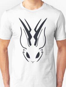 Jackalope Stencil Unisex T-Shirt