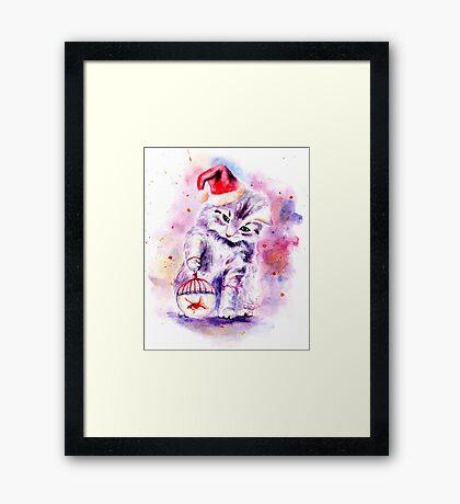 Christmas dream Framed Print