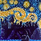 Hogwarts Starry Night by jerasky