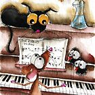 The piano man by StressieCat