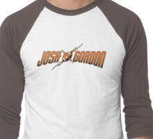 Josh Gordon - Logo Men's Baseball ¾ T-Shirt