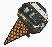 Cassette Icecream Kids Tee