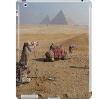 Camels & Pyramids iPad Case/Skin