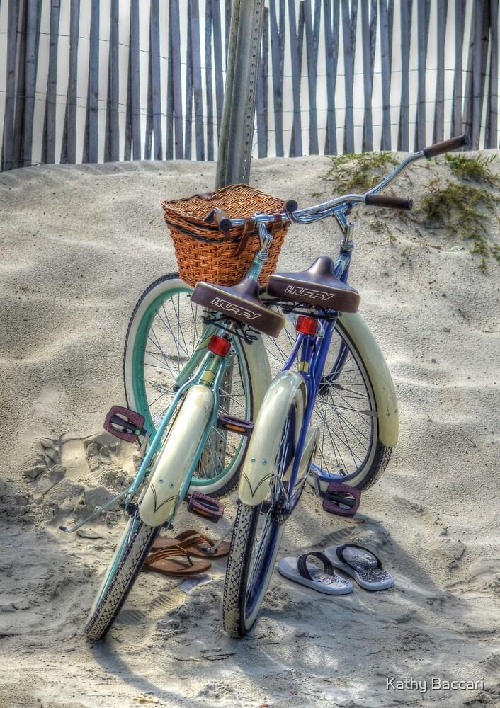 Beach Transportation by Kathy Baccari