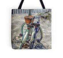 Beach Transportation Tote Bag