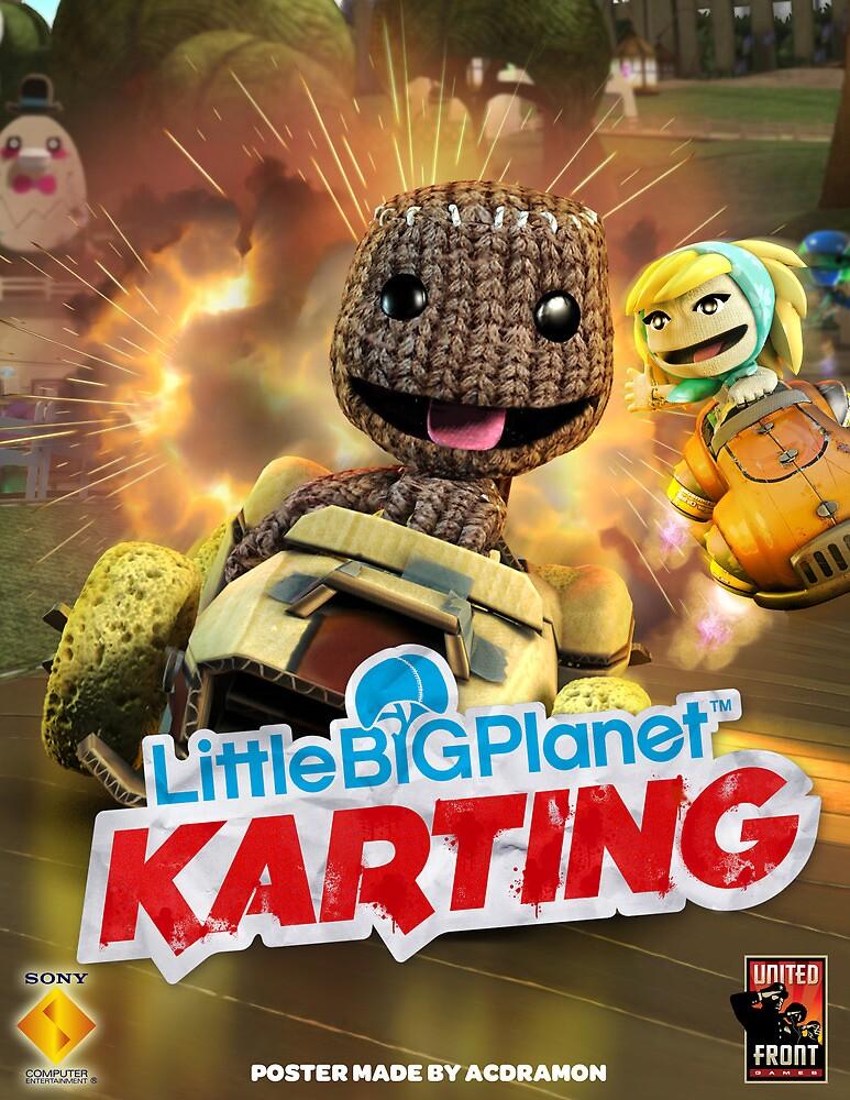 LittleBigPlanet Karting Burn Rubber by acdramon