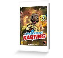 LittleBigPlanet Karting Burn Rubber Greeting Card