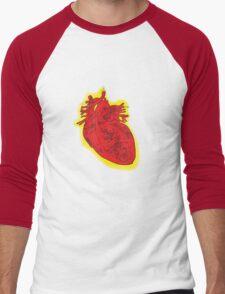 My Robot Heart Men's Baseball ¾ T-Shirt