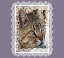 Tabby Cat Portrait Kids Clothes