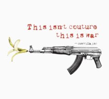 Couture | War by GUERRILLAinc