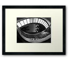 An Underground Eye Framed Print