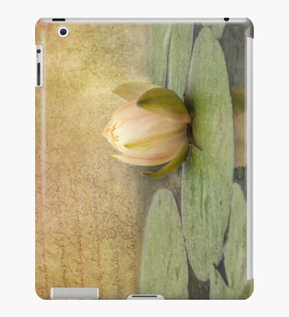 Peach Blush iPad iPad Case/Skin