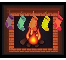 Liars Roasting On An Open Fire...... Photographic Print