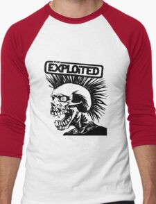 exploited Men's Baseball ¾ T-Shirt