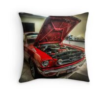 The Beast at Home Throw Pillow