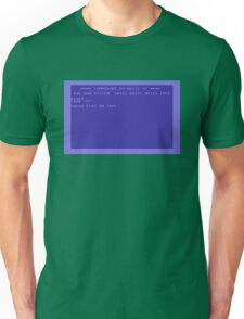 Commodore Screen Unisex T-Shirt