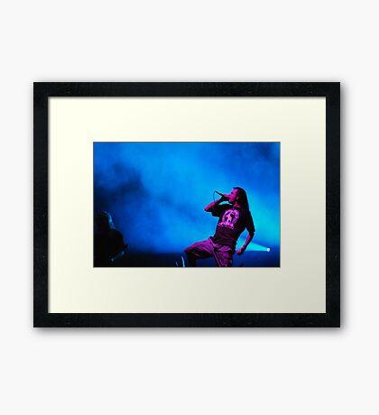 Randy Blythe Framed Print