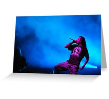 Randy Blythe Greeting Card