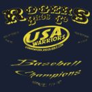 usa warriors baseball by rogers bros by usanewyork